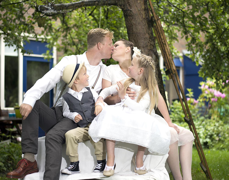 Bruidspaar & Kinderen